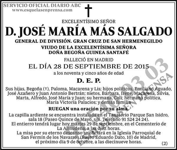 José María Más Salgado